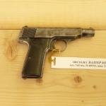 """ПИСТОЛЕТ """"WALTHER"""" M1906, КАЛИБЪР- 7.65 ММ."""