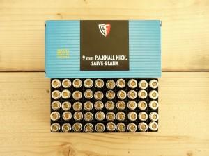 """Халостни патрони """"Fiocchi"""" за пистолет- 9 мм."""