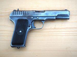 """Деактивиран пистолет """"ТТ"""" калибър 7.62мм"""