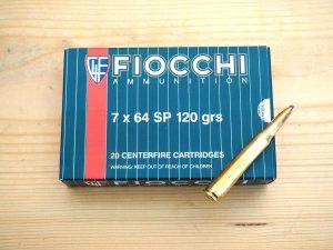"Патрон ""Fiocchi"" калибър 7х64"