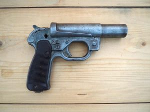 Немски ракетен пистолет 26 мм
