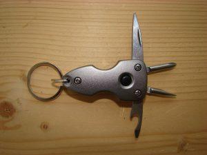 Ключодържател с инструменти