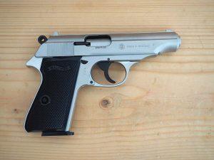 "Газов пистолет ""Walther"" PP калибър 9мм"